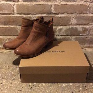Lucky brand bartalino booties